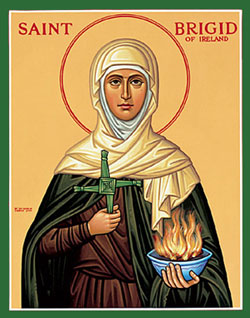 Image result for St. brigid