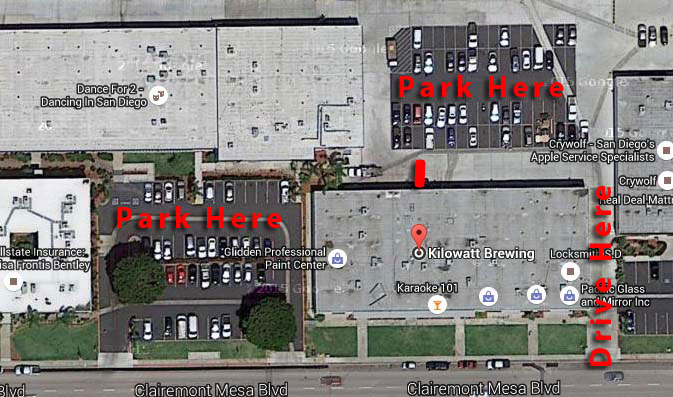 parking for kilowatt brewing