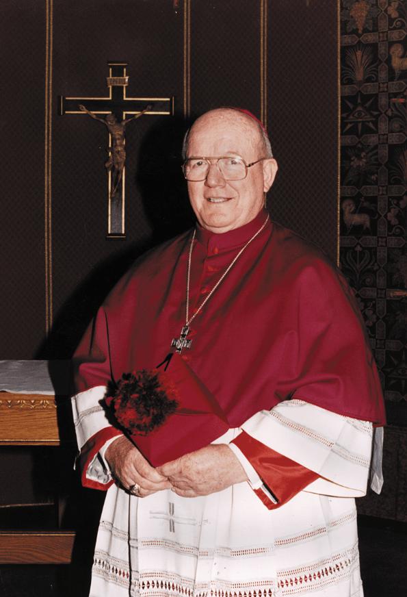 Bishop Emeritus Thomas Vose Daily +1927-2017