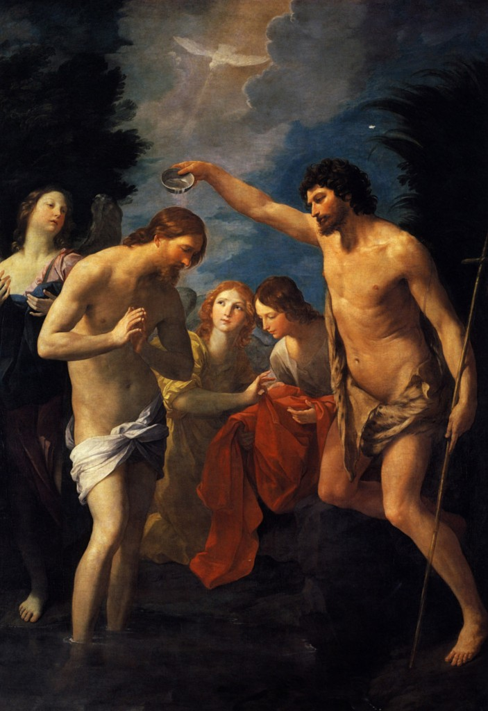 The Baptism of Christ, Guido Reni, 1622-1623, Kunsthistorisches Museum (Vienna)