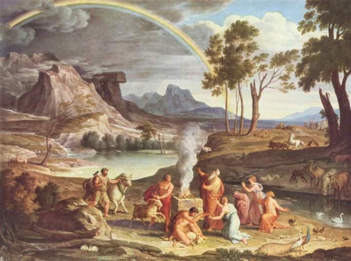 Noah's Thanksoffering, Joseph Anton Koch, c. 1803