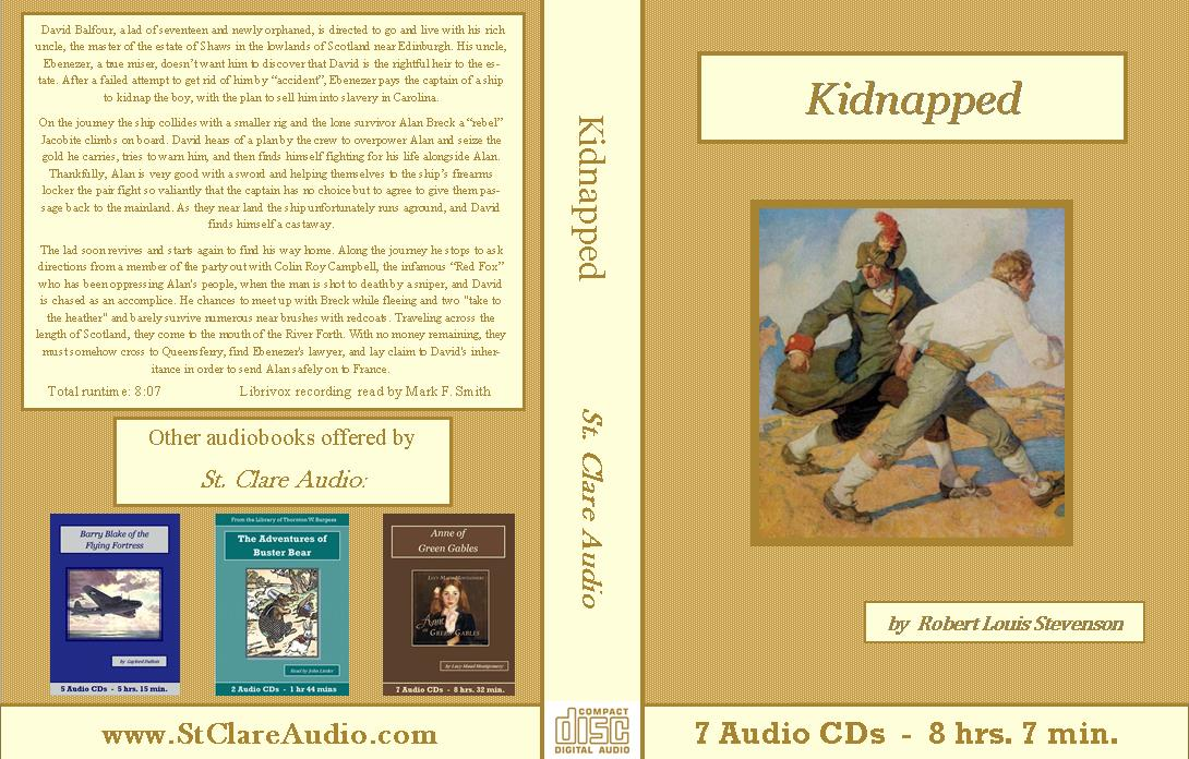 Kidnapped by RoberKidnapped by Robert Louis Stevenson - St. Clare Audiot Louis Stevenson - St. Clare Audio