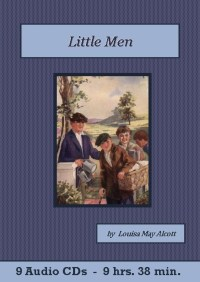 Little Men Classic Audiobook CD set - St. Clare Audio