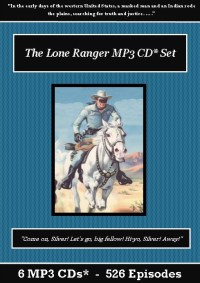 The Lone Ranger Old Time Radio Show MP3 CD Set - St. Clare Audio
