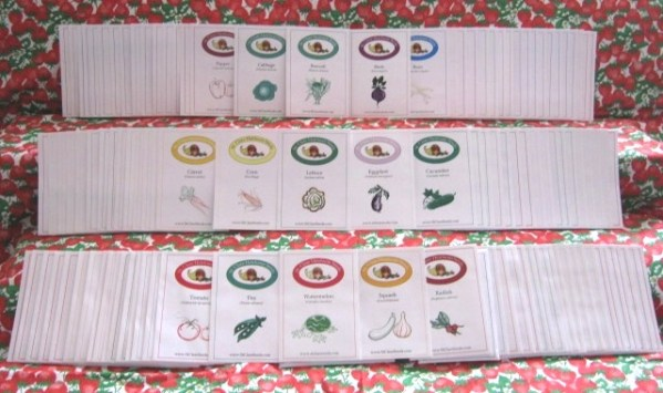 St. Clare's Ultimate Vegetable Garden Seed Collection - St. Clare Heirloom Seeds