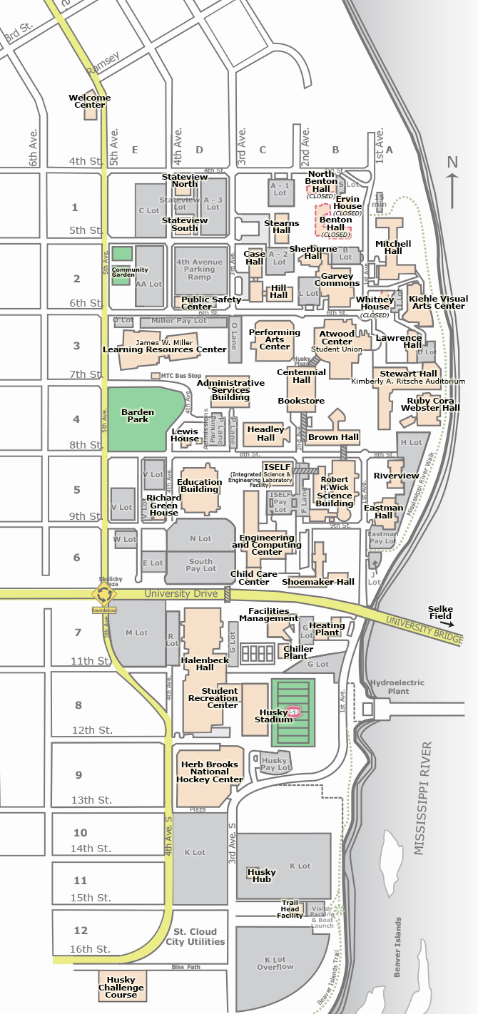 Life University Map Mn Buildings Science