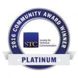 2016 Platinum Community Award Winner