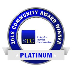 STC 2018 Platinum Community Award