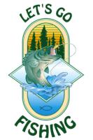 Let's Go Fishing With Seniors logo