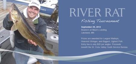 St. Croix River fishing tournament