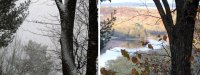 Winter and fall view comparison, Marty McKelvey
