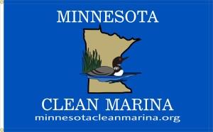 Minnesota Clean Marina Program flag