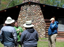 Ben Thwaits of In a New Light talking about Shafer Cabin