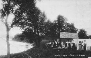 Pearl Spring Camp, 1911