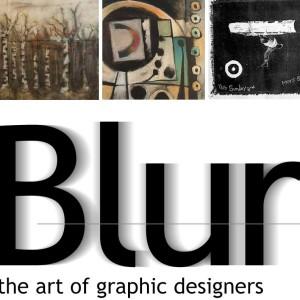 Blur art show
