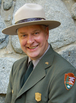Saint Croix National Scenic Riverway superintendent Chris Stein