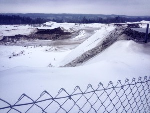 Tiller Zavoral Mine, January 2014 (Photo by John Schletty)
