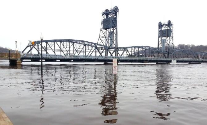 Stillwater scene on April 16, 2014