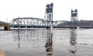 Stillwater flooding on April 15, 2014