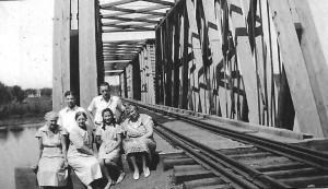 Old Railroad Bridge, 1935