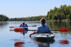 Kayaking the Croix