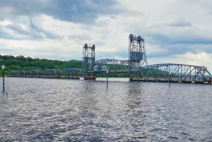 Lift Bridge closed during recent high water