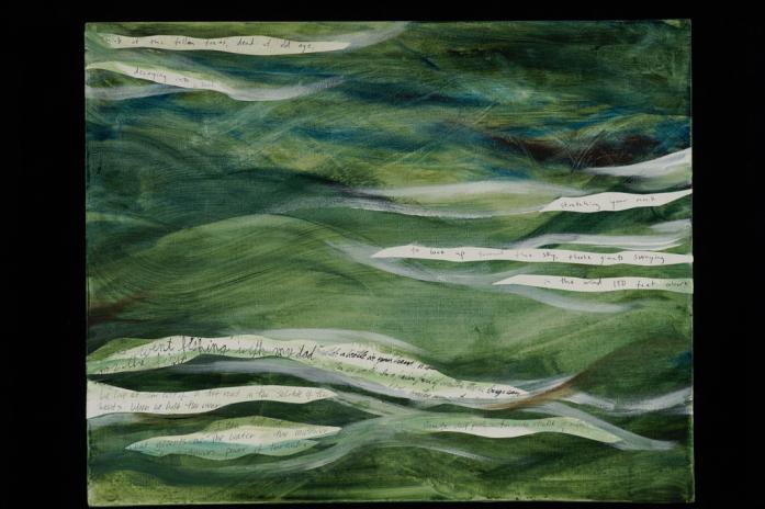Green Flow by Susan Armington