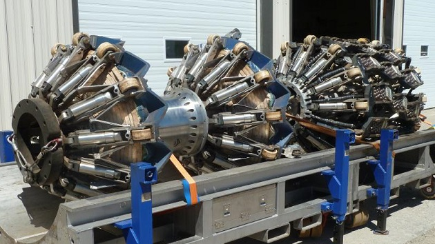 """This """"dual-diameter pig,"""" an inline inspection tool with ultrasonic capabilities, has been developed by Enbridge and Germany's NDT Global through a $4.4-million investment and years of design and testing."""