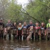 Grantsburg High Schoolers Net Answers About Rare Mussels in St. Croix Tributary