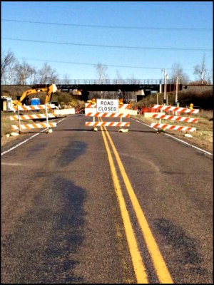Site of Enbridge integrity dig on Line 61 in Washburn County, Wisconsin. (Photo via Washburn County Sheriff)