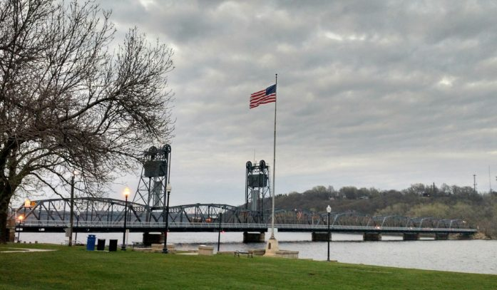 Stillwater Lift Bridge on April 19, 2016.
