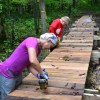 Mud and Muscles: Volunteers Maintain St. Croix River Region Hiking Trails