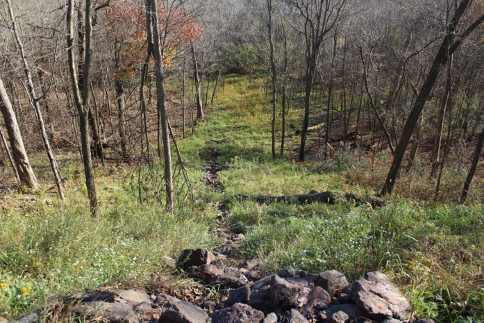 The restored gully, October 2016. (Greg Seitz, St. Croix 360)