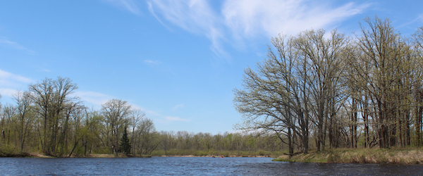 Confluence of the Namekagon River