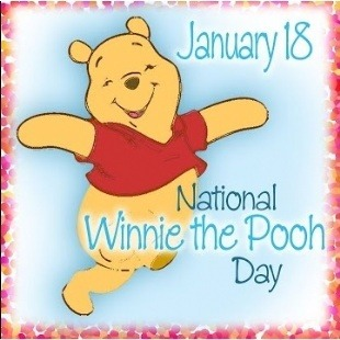 Monday 18th January 2021 is Winnie the Pooh Day