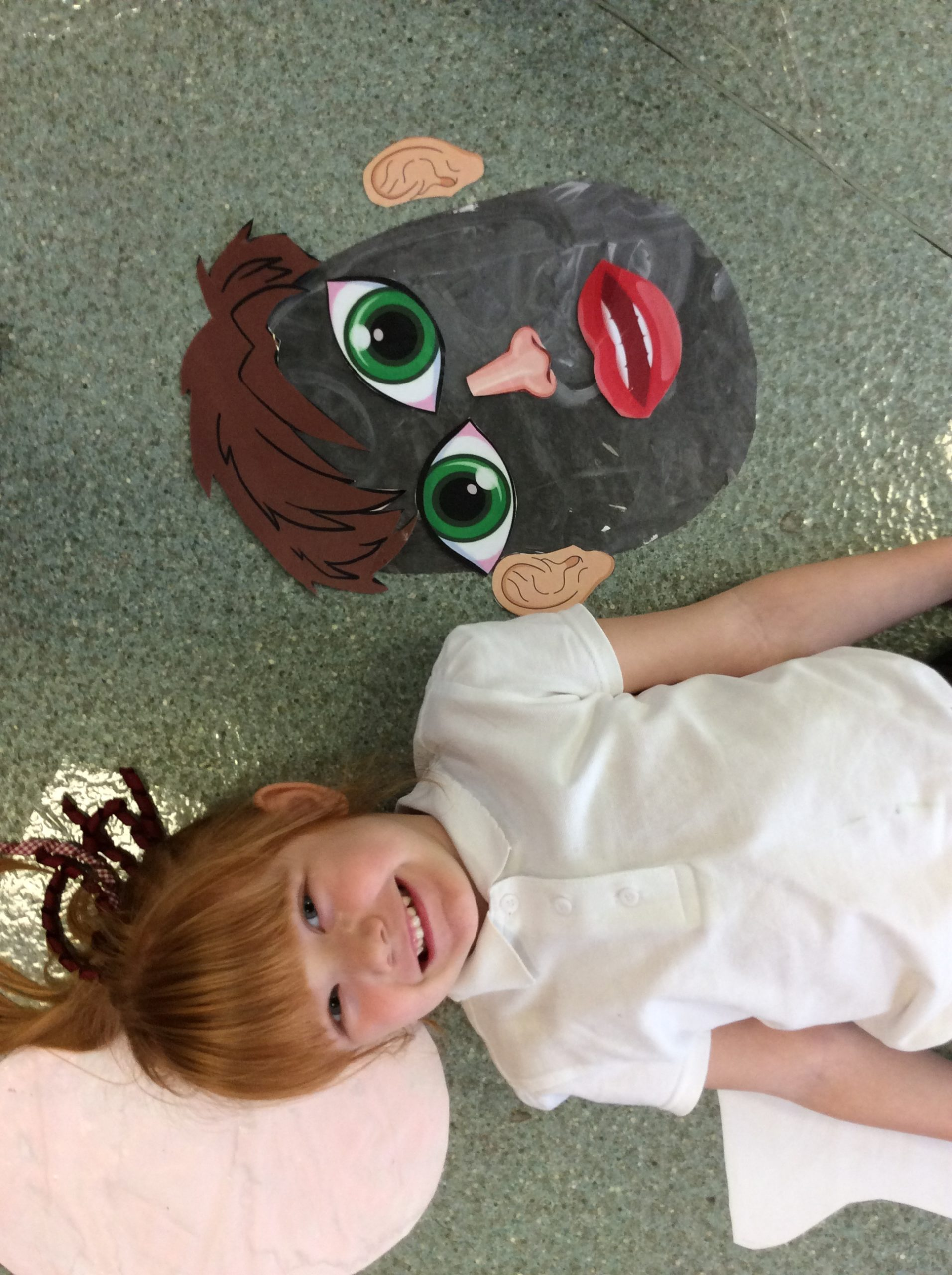 Funny faces in Foundation Stage today.