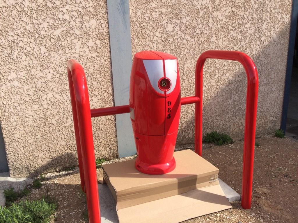 Barrière de protection pour bornes incendie : Estrecho 2