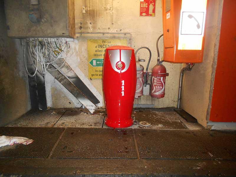 Remise en état des bornes incendie