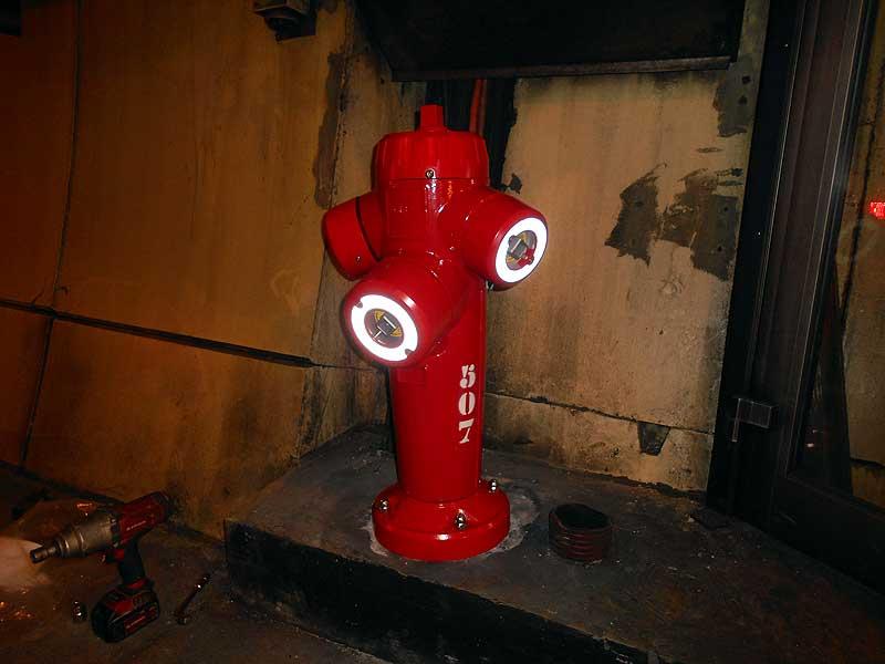 Remise en état des poteaux incendie