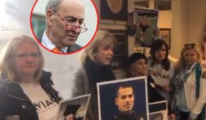 Angel Moms Protest at Chuck Schumer's Office [VIDEO]