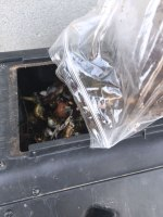 add to tumbler for composting