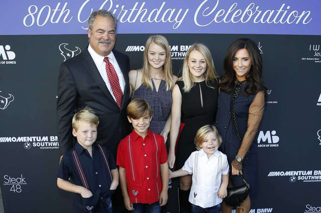 McNair Family at March of Dimes dinner