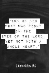 2 Chronicles 25:2