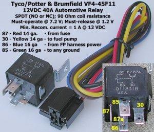Wiring an electric fan wrelay  Hot Rod Forum : Hotrodders Bulletin Board