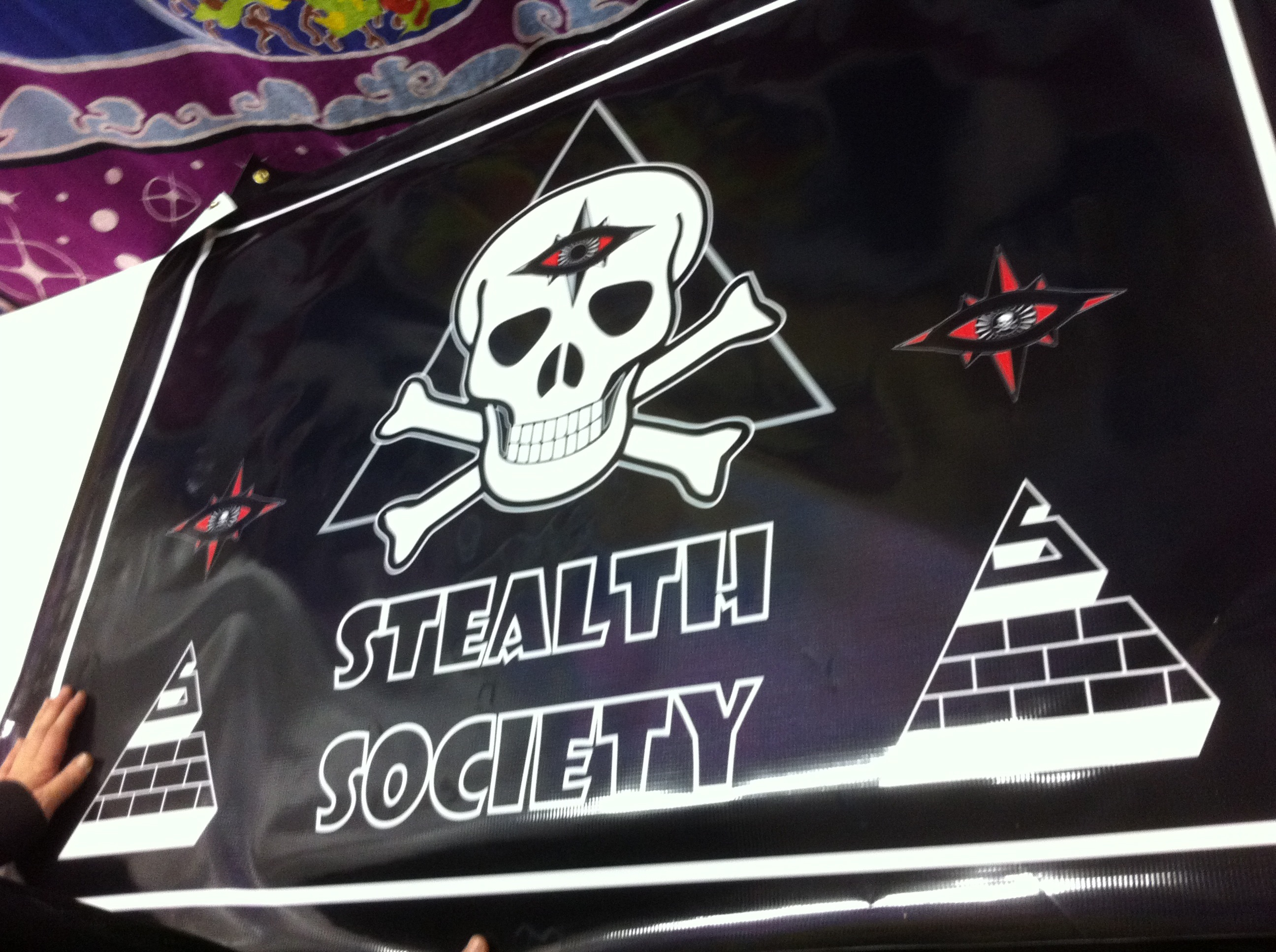Stealth Society Popup Shop Pic