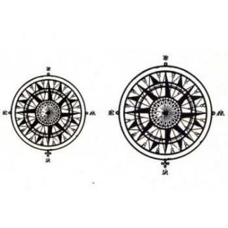 Steampunk Tattoo Windrosen