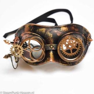 Steampunk Maske Thomas