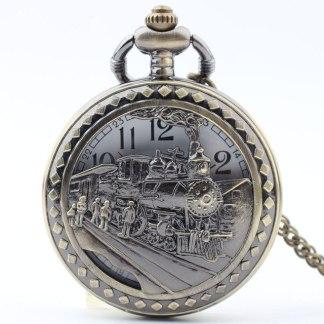 Steampunk Taschenuhr 63