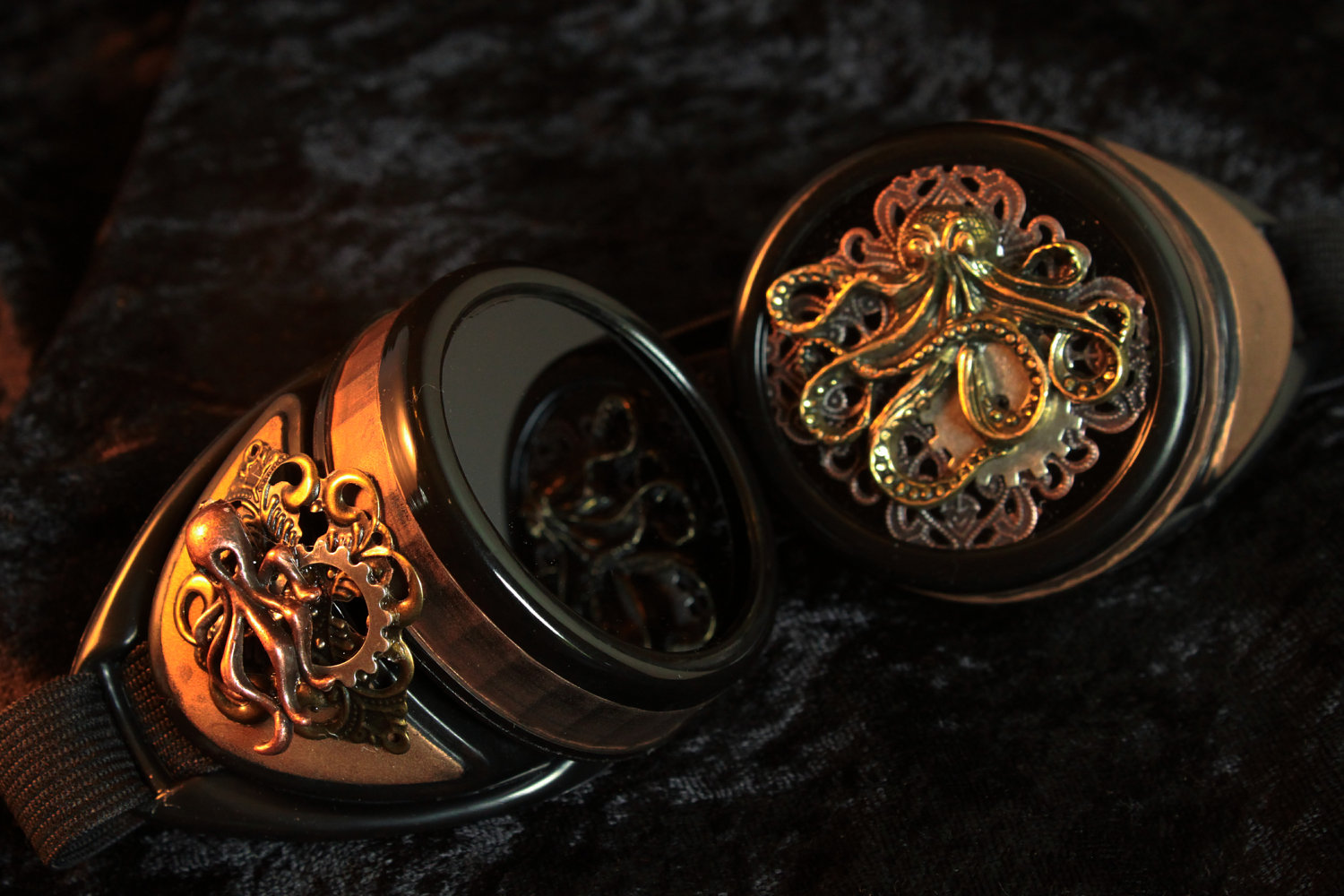 Cthulhu Goggles With Kraken Eyepiece