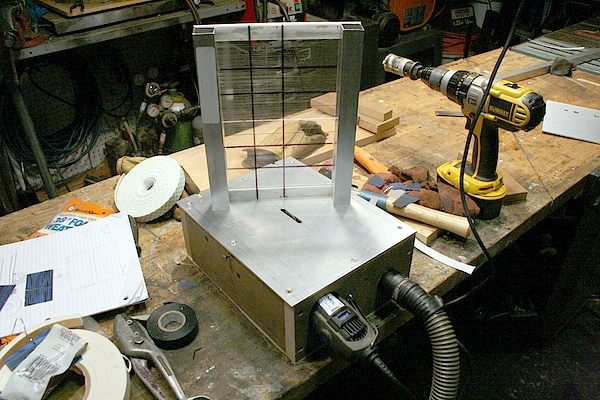 Mini table Saw for cutting Solar Cells